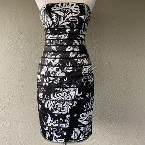 NWT White House Black Market Floral Formal Dress